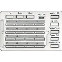 Panou de comanda Konika MK-733 pentru functiile de scanare si fax Biz 215