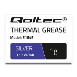 Pasta Termoconductoare Qoltec 51645, 1g, Silver
