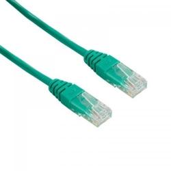 Patch cord 4World 04723, Neecranat, Cat5e, UTP, 1m, Green