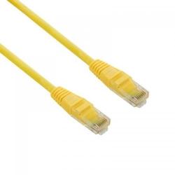 Patch cord 4World 04729, Neecranat, Cat5e, UTP, 1m, Yellow
