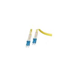 Patch Cord Optic Nexans N123.4LLY5, Duplex LC-LC, 5m, Yellow