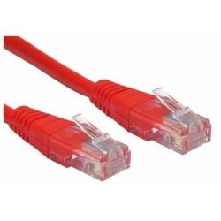 Patch Cord Spacer SP-PT-CAT5-1M-R, UTP, Cat5e, 1m, Red