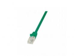 Patchcord Logilink, CAT5e, UTP, 0.25m, Green