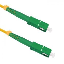 Patchcord Optic Qoltec 54281, SC/APC-SC/APC, 1m