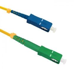 Patchcord Optic Qoltec 54295, SC/APC - SC/UPC, 20m