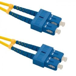Patchcord Optic Qoltec SC/UPC-SC/UPC, Duplex, 1m