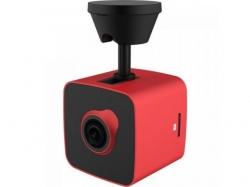 Camera video auto Prestigio RoadRunner Cube, Full HD, Red-Black