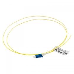 Pigtail fibra optica 4World 08710, LC/UPC, 1m