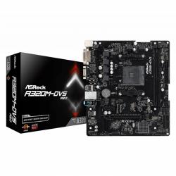 Placa de baza ASRock A320M-DVS R3.0, AMD A320, socket AM4, mATX