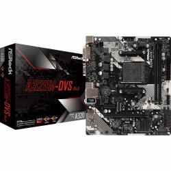 Placa de baza ASRock A320M-DVS R4.0, AMD A320, Socket AM4, mATX