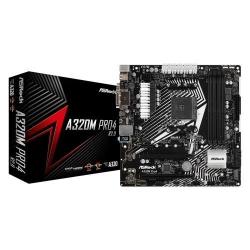 Placa de baza ASRock A320M Pro4 2.0, AMD A320, Socket AM4, mATX