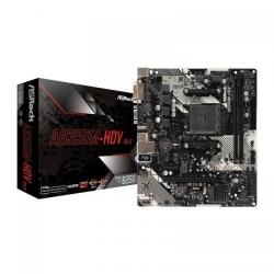 Placa de baza ASRock AB350M-HDV R4.0, AMD B350, Socket AM4, mATX