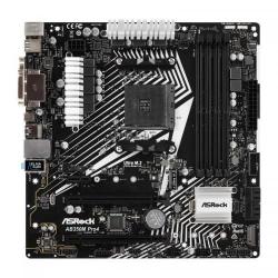 Placa de baza ASRock AB350M PRO4 R2.0, AMD B350, Socket AM4, mATX