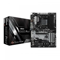 Placa de baza ASRock B450 PRO4, AMD B450, socket AM4, ATX