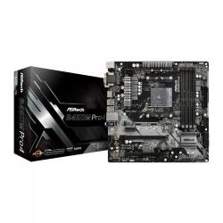 Placa de baza ASRock B450M PRO4, AMD B450, socket AM4, mATX