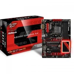 Placa de baza ASRock Fatal1ty AB350 Gaming K4, AMD B350, Socket AM4, ATX