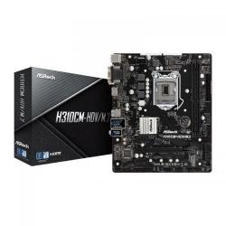 Placa de baza ASRock H310CM-HDV/M.2, Intel H310, Socket 1151 v2, mATX