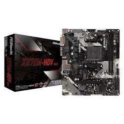 Placa de baza ASRock X370M-HDV R4.0, AMD X370, socket AM4, mATX