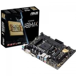 Placa de baza Asus A68HM-K, AMD A68H, socket FM2+, mATX