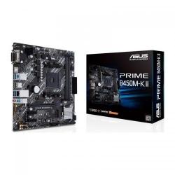 Placa de baza ASUS PRIME B450M-K II, AMD B450, socket AM4, mATX