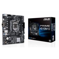 Placa de baza Asus PRIME H510M-D, Intel H510, Socket 1200, mATX
