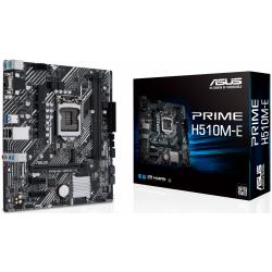 Placa de baza Asus PRIME H510M-E, Intel H510, Socket 1200, mATX