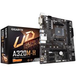 Placa de baza GIGABYTE A320M-H V3, AMD A320, Socket AM4, mATX