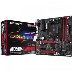 Placa de baza Gigabyte AB350M-Gaming 3, AMD B350, Socket AM4, mATX