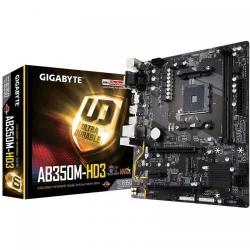Placa de baza Gigabyte AB350M-HD3, AMD B350, socket AM4, mATX