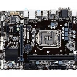 Placa de baza Gigabyte H110M-S2H, Intel H110, Socket LGA1151, mATX