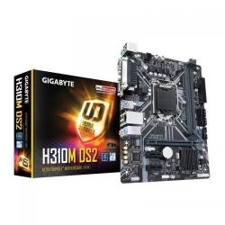 Placa de baza Gigabyte H310M DS2 2.0, Intel H310, Socket 1151 v2, mATX