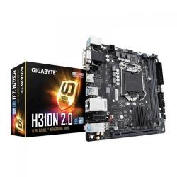 Placa de baza GIGABYTE H310N 2.0, Intel H310, Socket 1151 v2, mITX