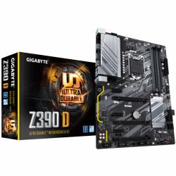 Placa de baza GIGABYTE Z390 D, Intel Z390, Socket 1151 v2, ATX