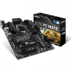 Placa de baza MSI B250 PC MATE, Intel B250, socket 1151, ATX