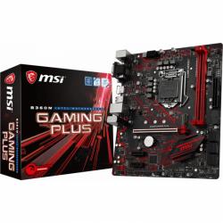 Placa de baza MSI B360M GAMING PLUS, Intel B360, Socket 1151 v2, mATX