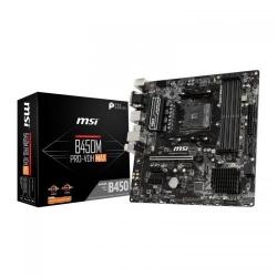 Placa de baza MSI B450M PRO-VDH MAX, AMD B450, Socket AM4, mATX