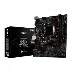 Placa de baza MSI H310M PRO-VD PLUS, Intel H310, Socket 1151 v2, mATX