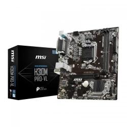 Placa de baza MSI H310M PRO-VL, Intel H310, socket 1151 v2, mATX