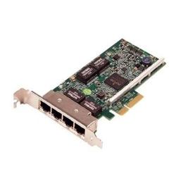 Placa de retea Dell Broadcom 5719 QP 1Gb Network Interface Card, Low Profile