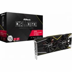 Placa video ASRock AMD Radeon RX 5700 Challenger D OC, 8GB, GDDR6, 256bit