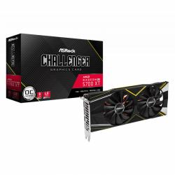 Placa video ASRock AMD Radeon RX 5700 XT Challenger D OC, 8GB, GDDR6, 256bit