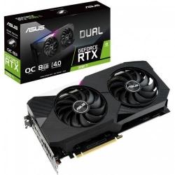 Placa video ASUS nVidia GeForce RTX 3060 Ti DUAL O8G 8GB, GDDR6, 256bit