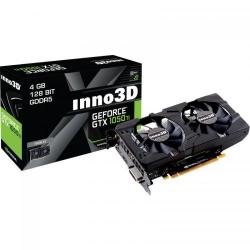 Placa video Inno3D nVidia GeForce GTX 1050 Ti Twin X2 4GB, DDR5, 128bit