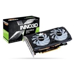Placa video Inno3D nVidia GeForce GTX 1660 SUPER Twin X2 OC RGB, 6GB, GDDR6, 192bit