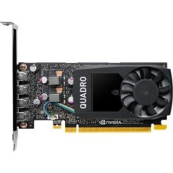Placa video profesionala PNY nVidia Quadro P1000 V2 4GB, GDDR5, 128bit, Low-profile