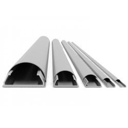 Plinta mascare cabluri Aluminiu Multibrackets 1271,GRI, 33 x 1100 x 18 mm (WxLxD)
