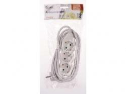 Prelungitor 1.5m 3xSchuko, alb PSOCK-315-WE