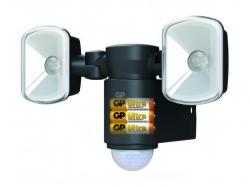 Proiector LED Safeguard 2.1 cu baterie si senzor miscare 2x LED GP; Cod EAN: 4891199166846