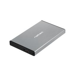 Rack extern Natec Rhino Go, SATA-USB 3.0, 2.5inch, Grey