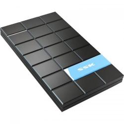 Rack extern SSK SHE080 Black SATA-USB 3.0, 2.5inch